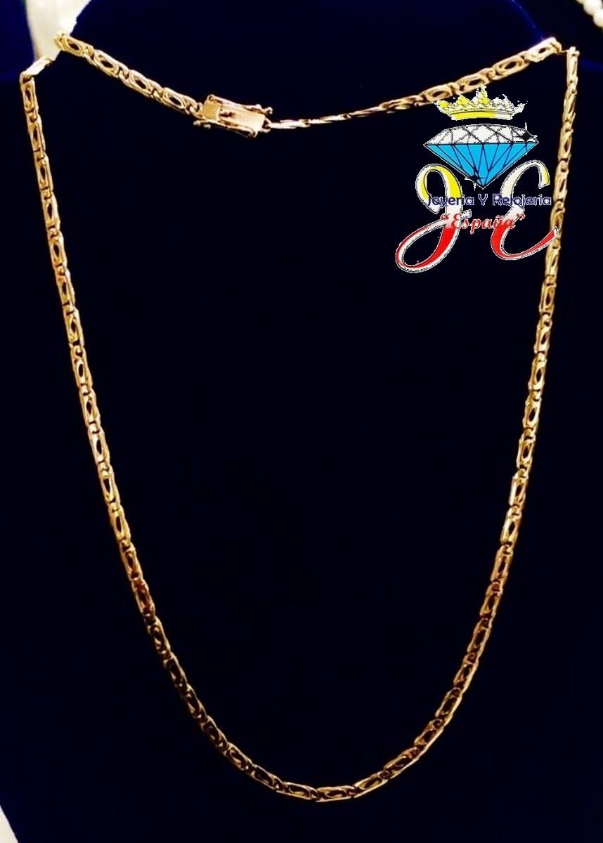57a602bb5251 cadena de oro legitimo 18k mónaco cc46 hombre jespaña. Cargando zoom.