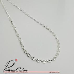 21bc9ad41ab3 Collar Cadena Con Eslabon Tipo Barco De Plata 925 Sellada - Joyas y Relojes  en Mercado Libre Argentina