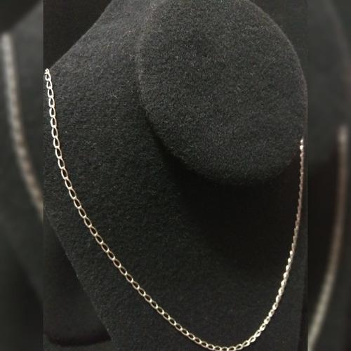 cadena de plata fina 925 tejido éxito hombre mujer unisex