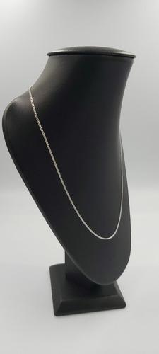 cadena de plata fina brillante 925 dama de taxco mujer 55cm