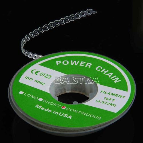 cadena de poder en rollo - uso dental
