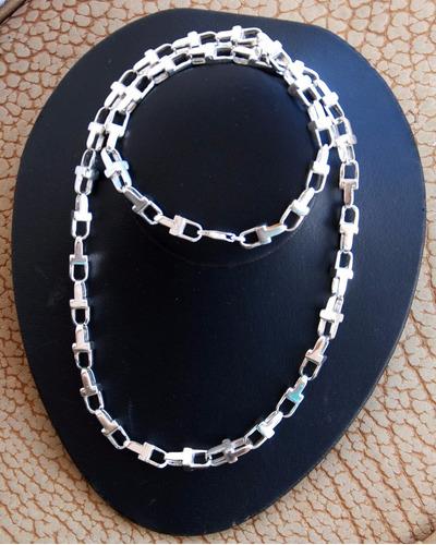 cadena del farahon en plata.