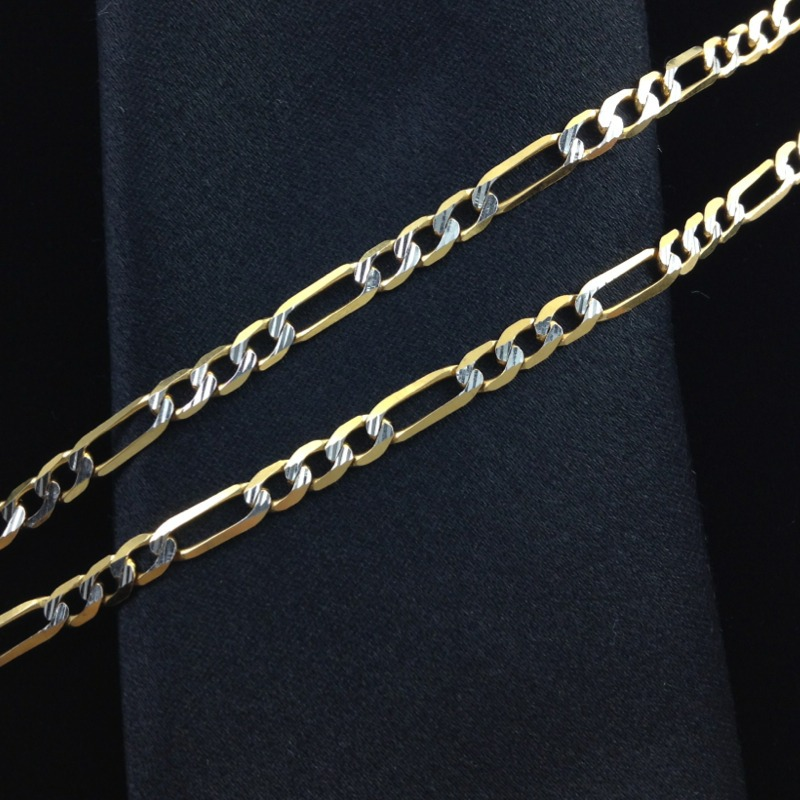 f2d245571f89 cadena diamantada caballero 60 cm oro solido 14k gbm. Cargando zoom.