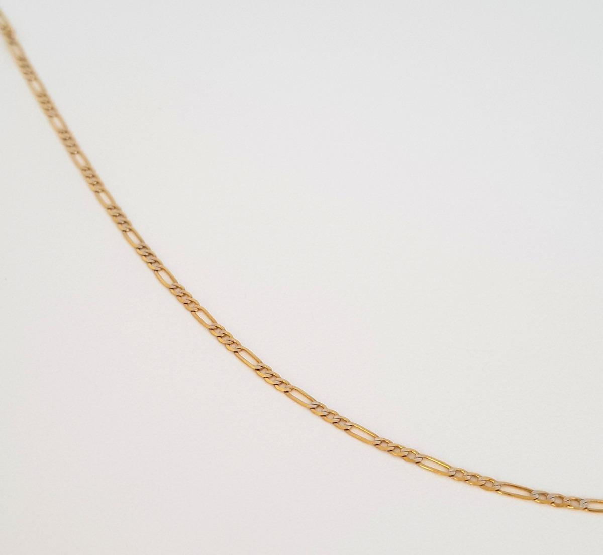 dc55cfefafc1 cadena diamantada oro 40 cm italiano sólido 14k. Cargando zoom.