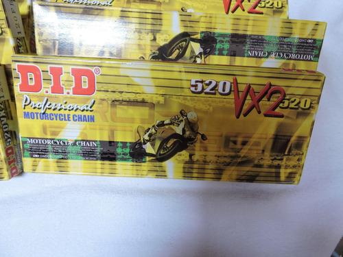 cadena d.i.d.professional pro-street xring 520 vx2 120