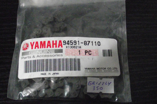cadena distribución yamaha grizzly yfm 350 atv cuatriciclo