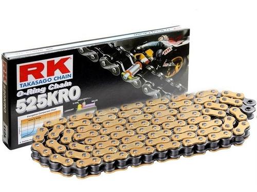 cadena dorada paso 525/124 o-ring marca rk