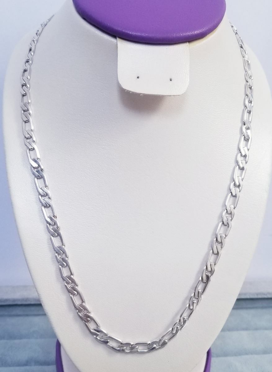 e2c736afd24a cadena en plata 950 modelo hexagonal plana 1 x 1 de 35.1 gr. Cargando zoom.