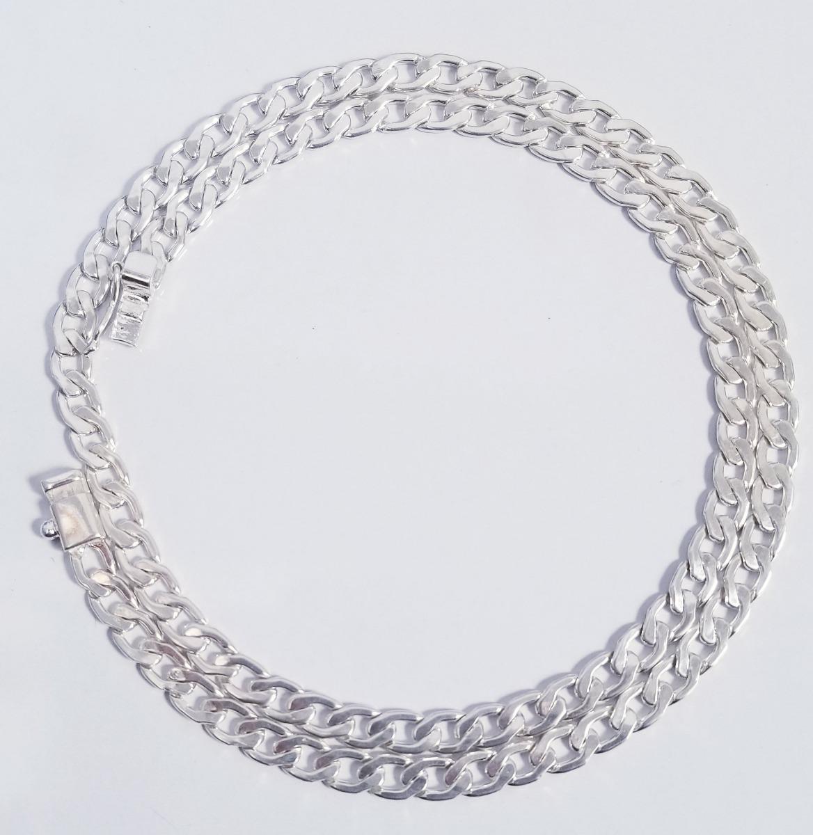 eca32104346c cadena en plata 950 modelo hexagonal plana de 36.5 gramos. Cargando zoom.