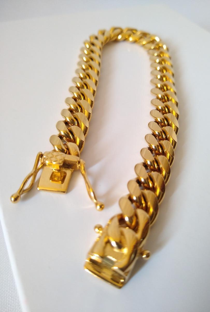 52a586e69a42 Cadena Esclava Para Hombre Oro Laminado 18k -   690.00 en Mercado Libre