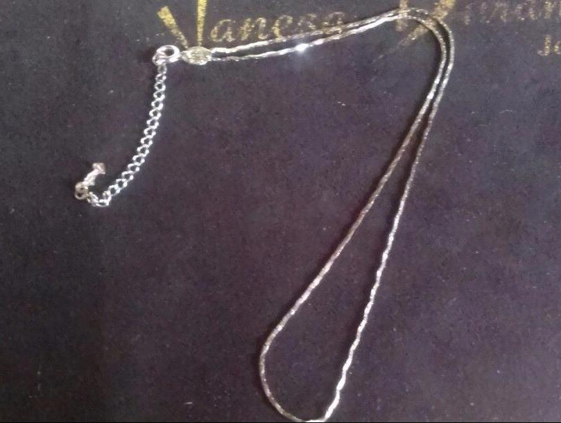 91c9aebb6857 cadena eslabón fantasía oro blanco 14k vanesa duran joyas. Cargando zoom.