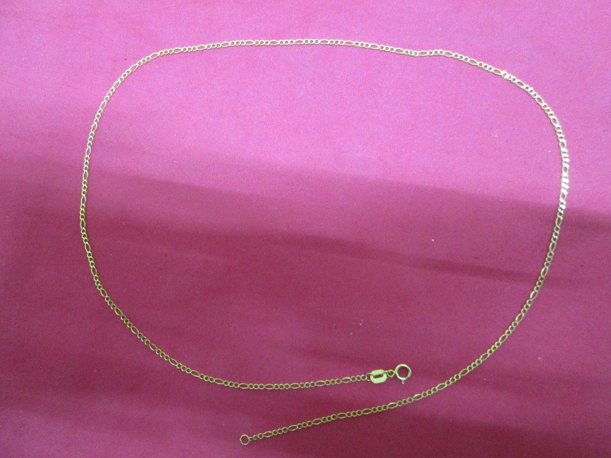 79a854c9eff9 cadena fígaro oro solido de 10 kilates 2 mm. y 60 cm. Cargando zoom.