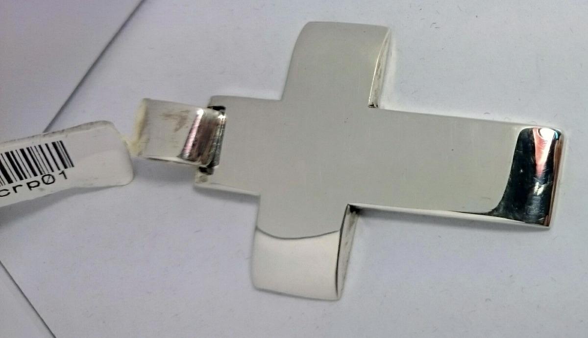116098654c84 cadena forcet 4mm y cruz maciza gruesa hombre plata 925. Cargando zoom.