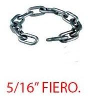 cadena galvanizada 5/16 . marca fiero.