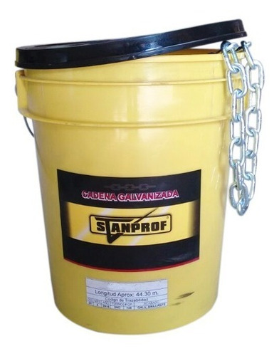 cadena galvanizada 5/16*37mt stanprof (50kg)