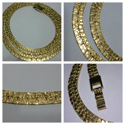 Cadenas De Oro Italiano 14k: Cadena Gargantilla Doble Oro Laminado Italiano 24 K C