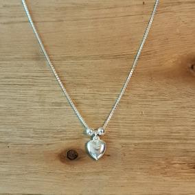b951c6e1671a Collar Tiffany Bolitas Dije Corazon - Cadenas y Collares en Mercado ...