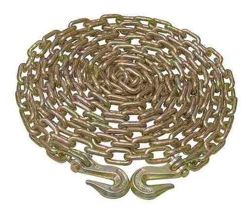 cadena grado 70 con gancho 5/16  x 6 m 150822 surtek