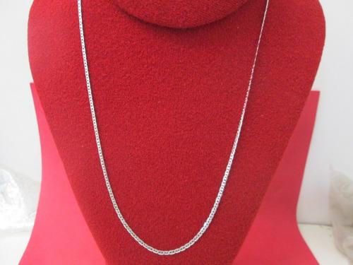 cadena gucci  plata fina .925  2.1 mm y 55 cm