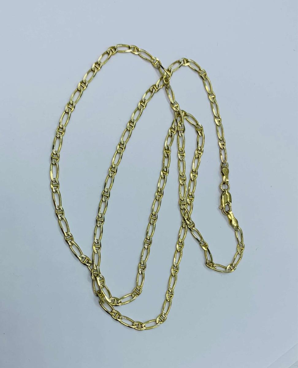5225d2decd80 cadena italiana en oro de 14k diamantada dama o caballero. Cargando zoom.