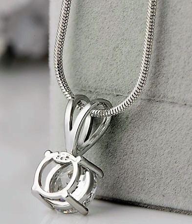 cadena joyas collar zirconias