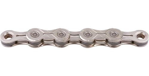 cadena kmc light x10el 1/2  x11/28 10v plata