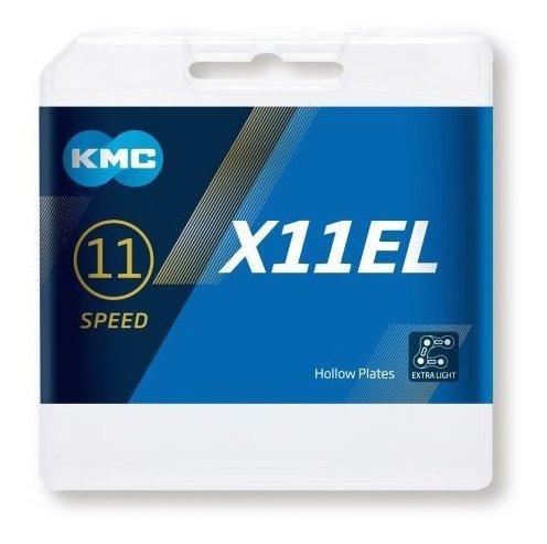 cadena kmc x11el light 1/2x11/128   11v dorad