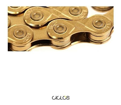 cadena kmc x8 gold 8v - ciclos