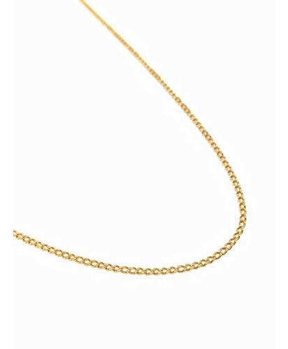 cadena larga oro 18k 70 cm hombre (c305)