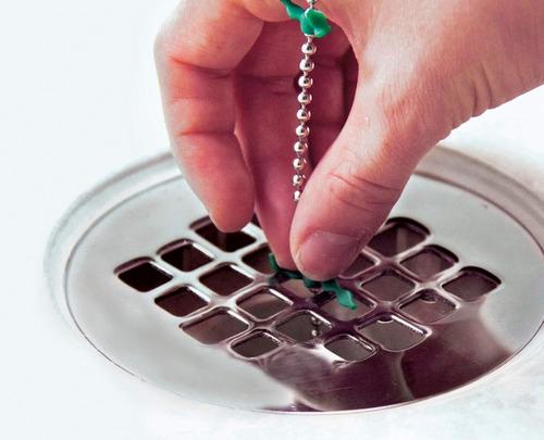 cadena limpia drenaje (drainwig)