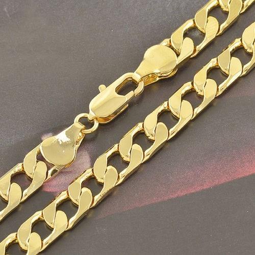 cadena martillada - oro laminado