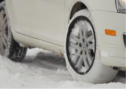 cadena nieve hielo automovil textil isse reforzada