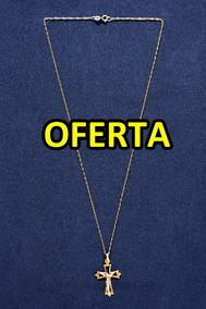 60fa4f2a3a9a Cadena Oro 18k De Ley 750 Con Crucifijo - Joyería y Bisutería Collares en  Mercado Libre Venezuela