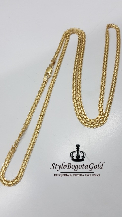 1765fd9e8b37 Cadena Oro 18k Italiano - 70cm Tejido Chino -   1.850.000 en Mercado ...