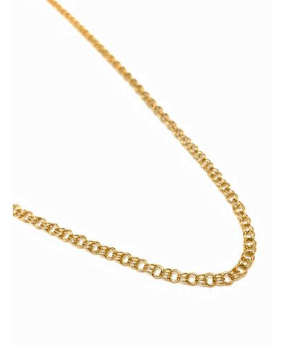 cadena oro 18k larga 74 cm (c284)