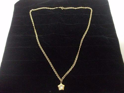cadena oro 18k  (ley 750) italiano 27cm largo 6.8gr tienda