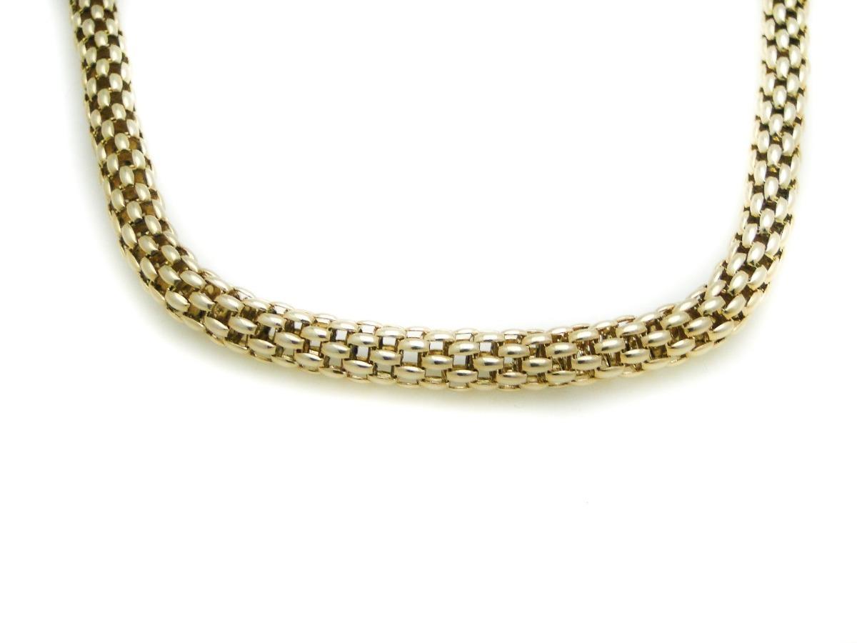 6a30e3fc956f cadena oro amarillo 18k eslabon tipo malla maciza. Cargando zoom.