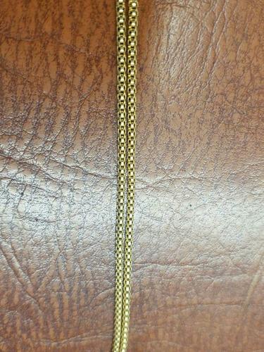 cadena oro italiano 750 peso 6.1 gramos