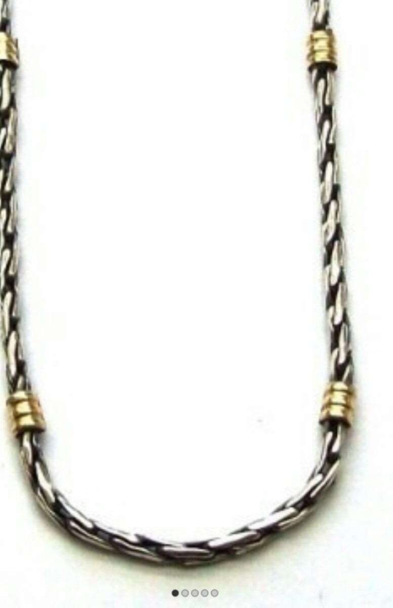 1b078cddb9e5 cadena oro y plata numero 2. Cargando zoom.