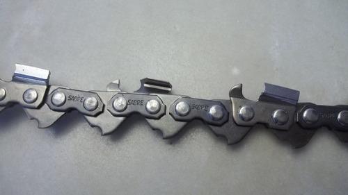 cadena  p/ motosierras sabre en rollo de 7,5 mts.-3/8  x0,58