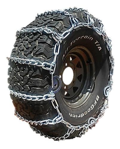 cadena para llanta 4x4 rin 15/7mm para lluvia y barro