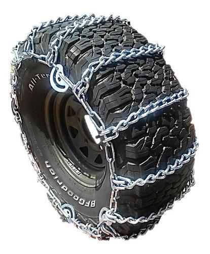cadena para llanta 4x4 rin 17,5/7mm para lluvia y barro