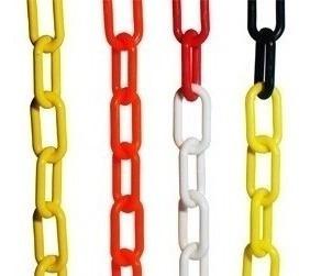 cadena plástica bicolor multicolor oferta (xmetro)