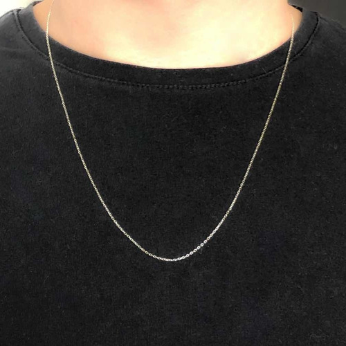 cadena  plata 925 forzet 030 (finita) largo 60 cm