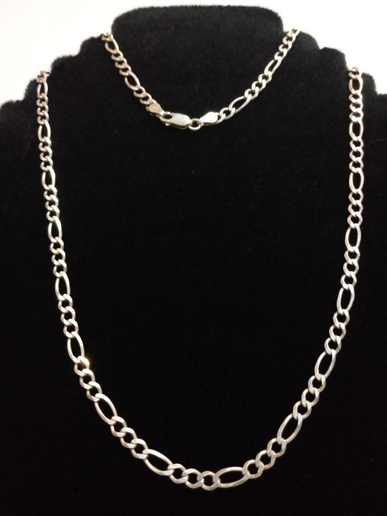 de01ec7d5269 cadena plata 925 largo 50cm modelo 3x1. Cargando zoom.