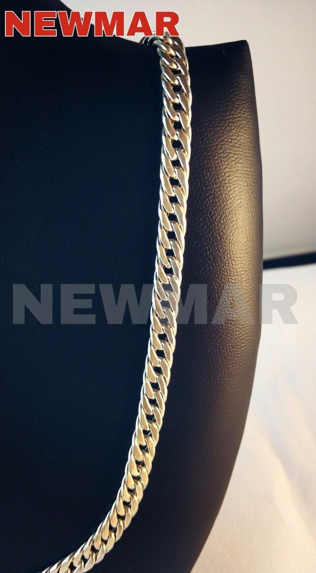 3e6b28634d11 cadena plata 925 para hombre grumet 50cm gruesa papa 7mm. Cargando zoom.