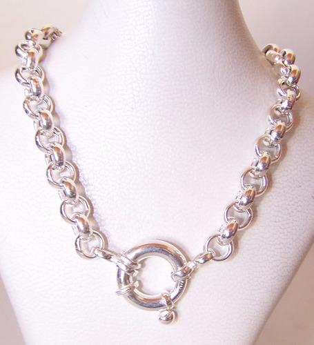 cadena  plata 925 roló marinero 50cm 6.5mm