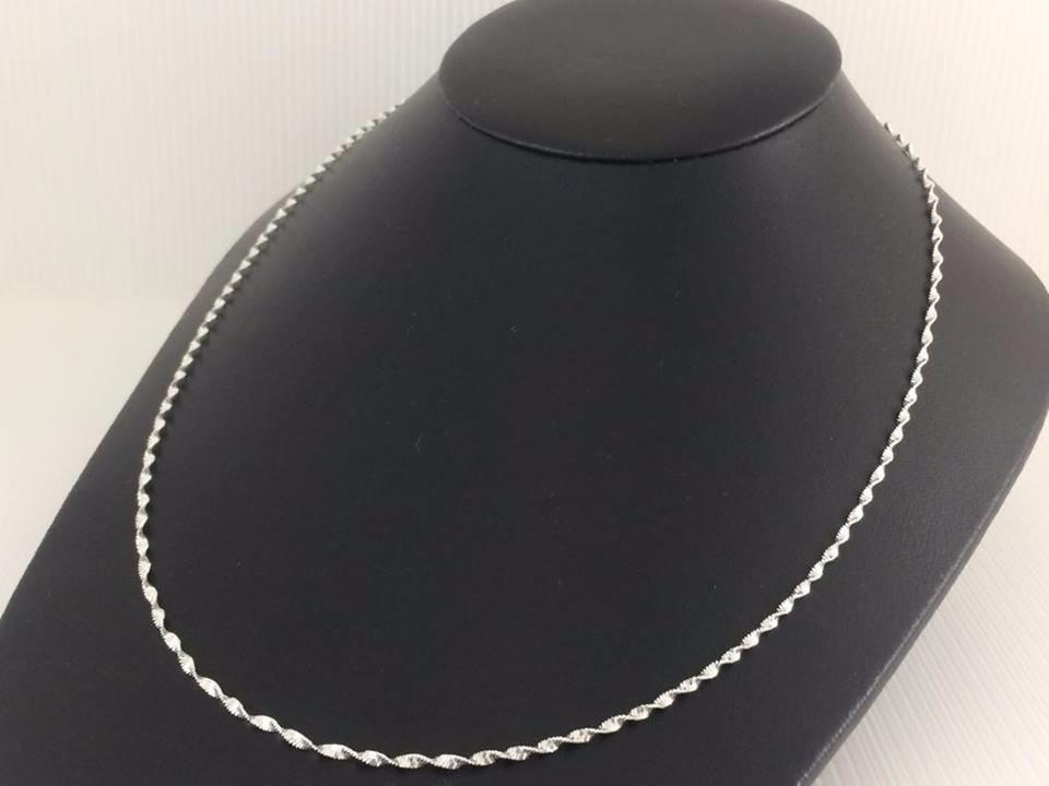 3a0e5904f2c9 cadena plata 925 tejido super singapur 3.6grs50cmx2mm ss02. Cargando zoom.