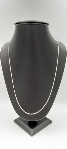 cadena plata brillante fina 925 dama taxco para mujer 45cm