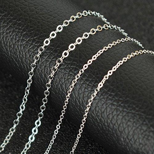 cadena plata collar